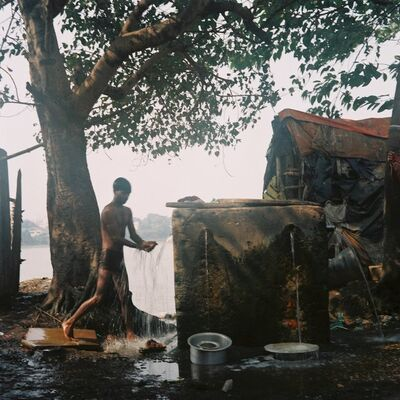 Denis Dailleux, 'La fontaine á Calcutta', 2019