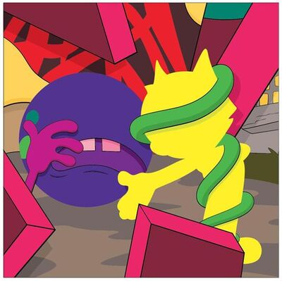 KAWS, 'Presenting the Past', 2014