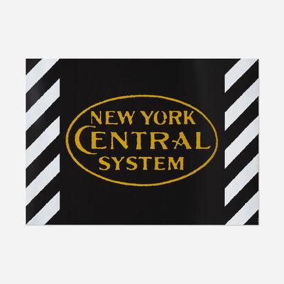 Robert Cottingham, 'New York Central System', 1987