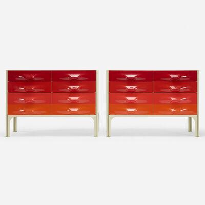 Raymond Loewy, 'DF 2000 cabinets, pair', c. 1965