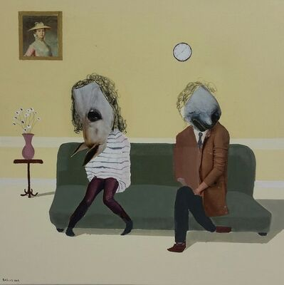 Bastiaan van Stenis, 'Lets not show our faces until the very end', 2019