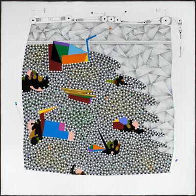 Luis Cruz Azaceta, 'Tsunami III', 2012
