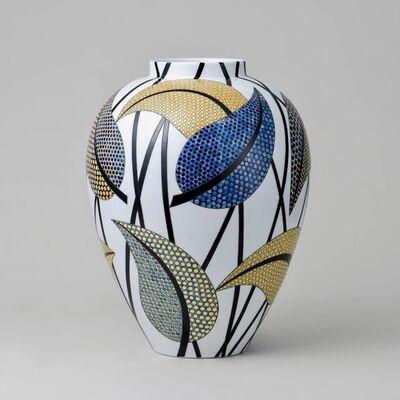 Felicity Aylieff, 'Fencai Leaves Vase', 2019