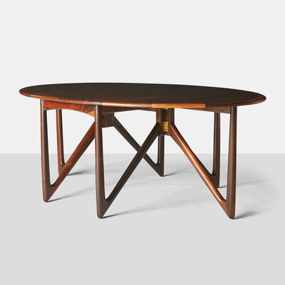 Niels Koefoed, 'Kurt Ostervig Rosewood Dining Table', 1960-1969