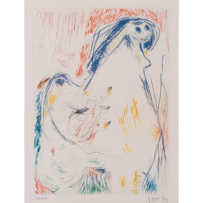 Asger Jorn, 'Proposition enceinte', 1971