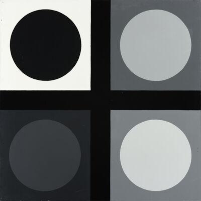 Poul Gernes, 'Untitled (tic tac toe painting)', 1966-1967
