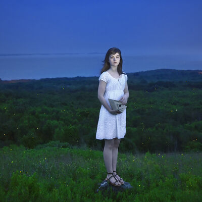 Cig Harvey, 'Devin and the Fireflies, Rockland, Maine'