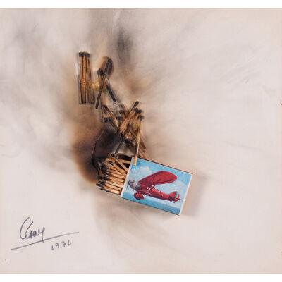 César, 'Combustion d'allumettes', 1972