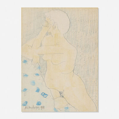 Milton Avery, 'Untitled (Nude)', 1959