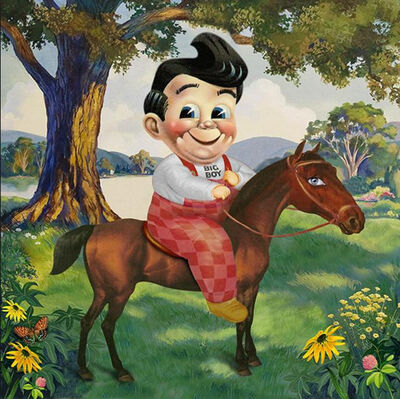 Nelson De La Nuez, 'Nelson De La Nuez, Equestrian Boy ', 2018