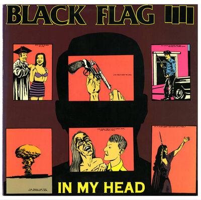 Raymond Pettibon, 'Original Raymond Pettibon record cover art, Black Flag, In My Head', 1985