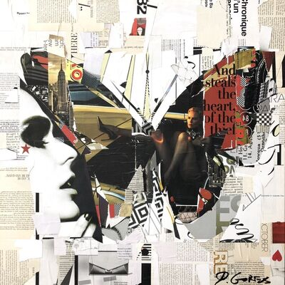 Derek Gores, 'And Steals The Heart of The Thief', 2018