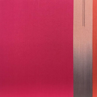 Ptolemy Mann, 'Pink Space with Parallel Lines', 2019