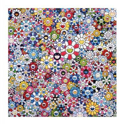 Takashi Murakami, 'Smiling flowers', 2020