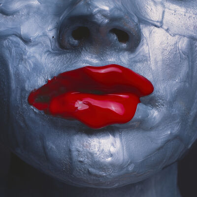 Tyler Shields, 'Red Lips', ca. 2018