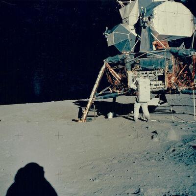 NASA, 'Apollo 11: Buzz Aldrin unpacks experiments from Lunar Module', 1969
