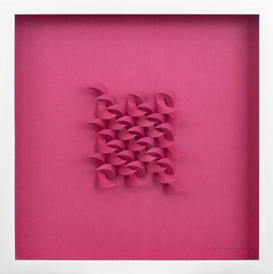 Matt Shlian, 'Cursive in Pink', 2019