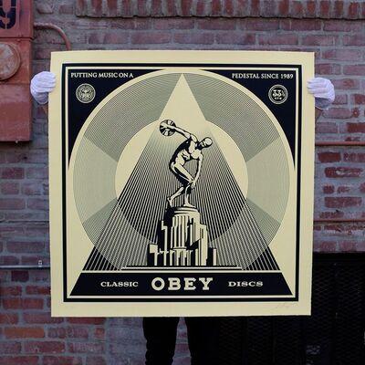 Shepard Fairey, 'Classic Discs', 2014