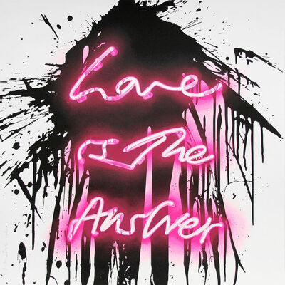 Mr. Brainwash, 'Love On', 2018
