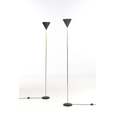 Luigi Caccia Dominioni, 'Model No. LTE5 said Imbuto; Pair of lamps', 1953