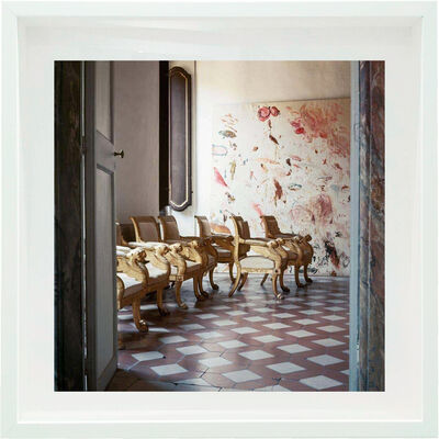 Horst P. Horst, 'Cy Twombly in Rome - Untitled #19 Small size: framed / X Large Mounted on Aluminum ', 1966
