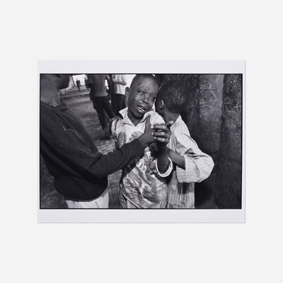 Mary Ellen Mark, 'Fighting Street Boys, Khartoum, Sudan', 1988