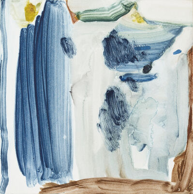 Calum McClure, 'Blue Pole', 2017