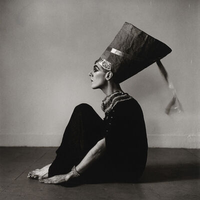 Peter Hujar, 'Ethyl Eichelberger as Nefertiti (II)', 1981