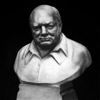 Kepa Garraza, 'Winston Churchill', 2017