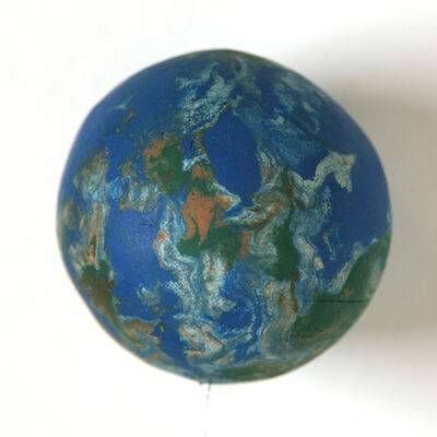 Mark Wallinger, 'Small World (1:255,000,000)', 2011