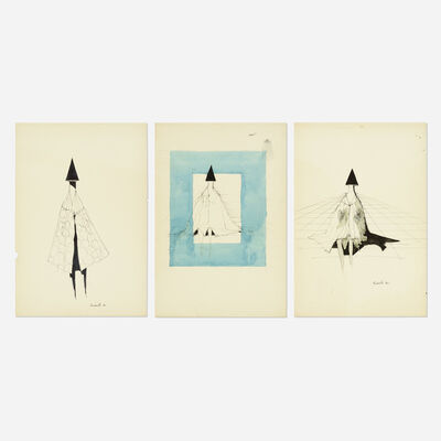 Lynn Chadwick, 'Untitled (three works)', 1972