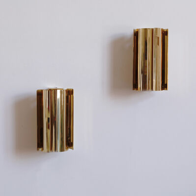 Unknown Artist, 'PAIR OF BRASS 1980S FAGERHULT SCONCES', ca. 2980