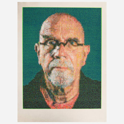Chuck Close, 'Self-Portrait', 2016