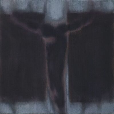 Robert Zandvliet, 'Crucifix Study IV (black, grey)', 2018
