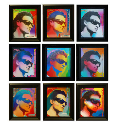 Peter Max, 'Bono (Set of 9)', 2003