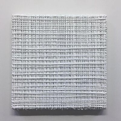 Vicky Christou, 'White Grid 20'