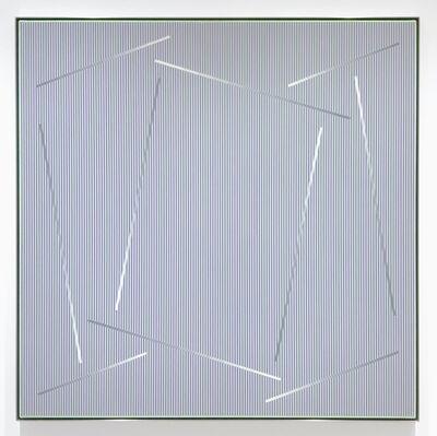 Julian Stanczak, 'Within the Square', 1989