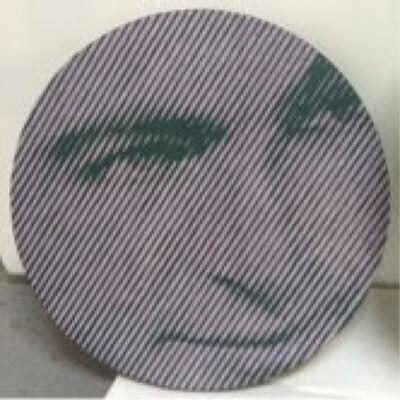 Chris Cran, 'Grey/Purple/Green Man', 2013