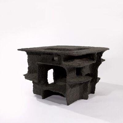 Steven Haulenbeek, 'Resin-Bonded Sand Side Table', 2016