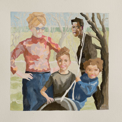 Ruth Owens, 'Good Family, study', 2018