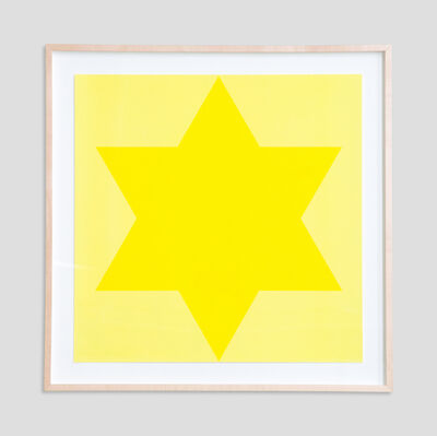Olivier Mosset, 'Yellow Star', 1998