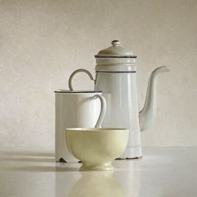 Willem de Bont, 'Cafetiere, bowl and can', 2013