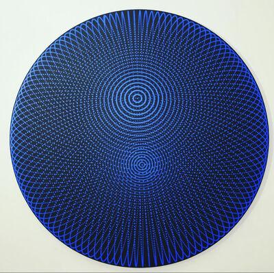 John Zoller, 'John Zoller, Cobalt Blue Translucent Orb', 2020