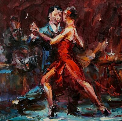 Lyudmila Agrich, 'Dance of Passion', 2018