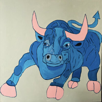 Melinda Mcleod, 'Azul The Bull', 2019
