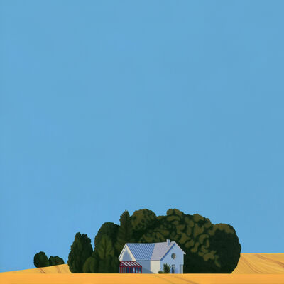 Jeroen Allart, 'Sweden - landscape painting', 2020
