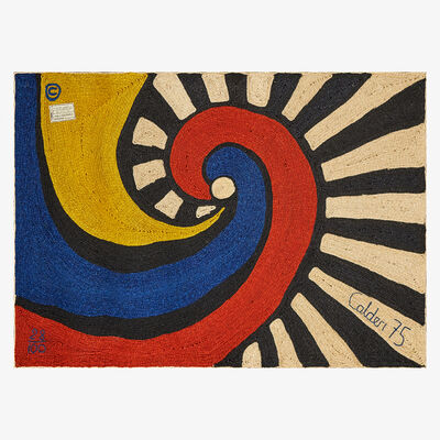 After Alexander Calder, 'Wall-hanging tapestry, Swirl, Guatemala', 1975