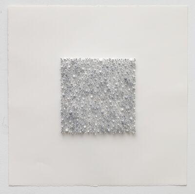 Lars Christensen, 'Grey square 01 (Blue)', 2017