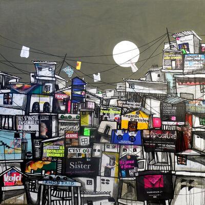 Obou Gbais, 'Locodjoro Streets collage N°2', 2019