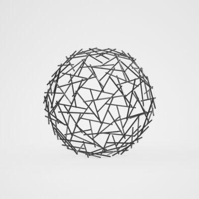 R. Buckminster Fuller, 'Geodesic Tensegrity Sphere, 120 Strut, 4 Frequency Dome', c. 1980
